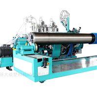 克拉管热态缠绕结构壁管生产线设备