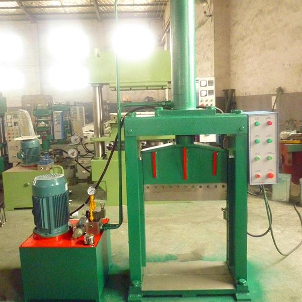 立式工业橡胶分条机