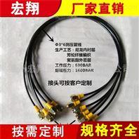 高压压力表测压线 HF测压软管