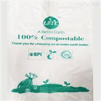 全降解PLA可堆肥 淀粉基生物降解马甲袋