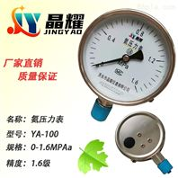 YA-60氨压力表