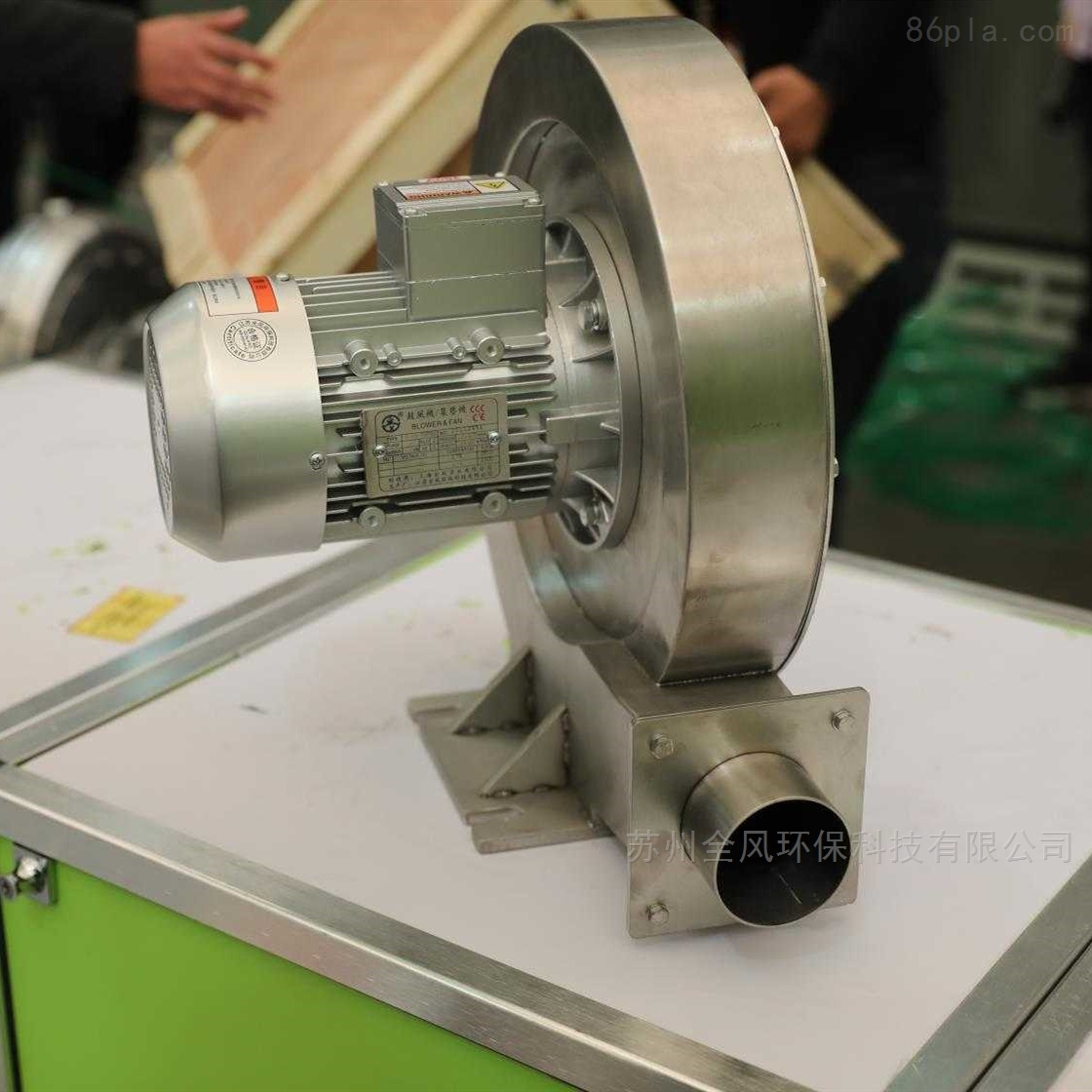 抽高温气体不锈钢中压鼓风机