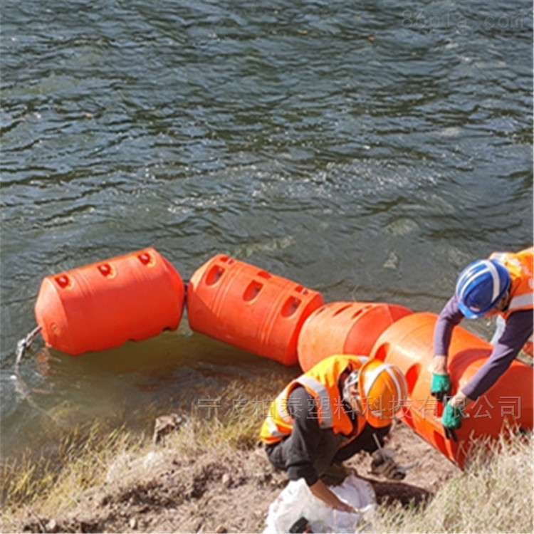 电站拦污排浮体 海上警示浮筒
