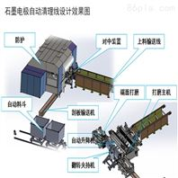 石墨电极抛丸机-石墨碳棒打磨机