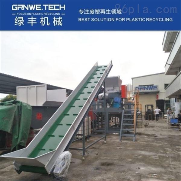 PE大蓝桶回收清洗线 溶剂桶清洗再生设备