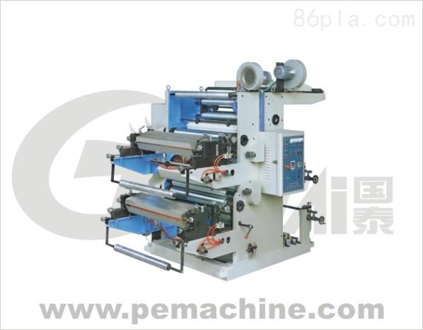二色柔性凸版印刷機(可印無紡布)