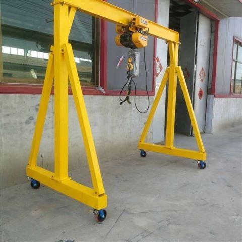 小型移动简易龙门架-单梁起重机价格