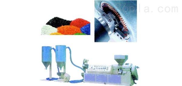 PVC塑料热切造粒生产线