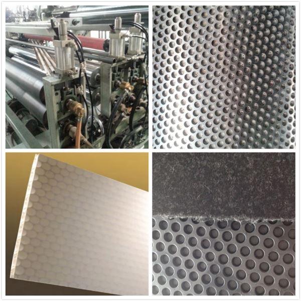 塑料蜂窝复合装饰板生产线