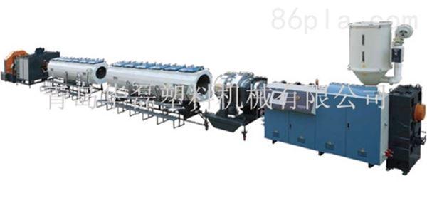 常用口径HDPE管挤出生产线