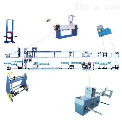 SJ45/25电线包覆机组