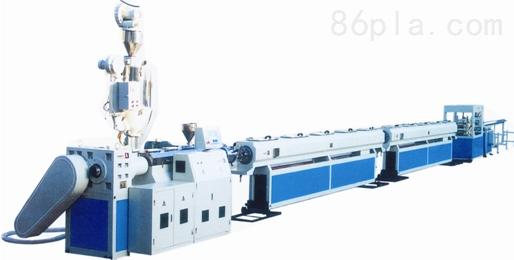 PPR新型冷热水管管材挤出生产线