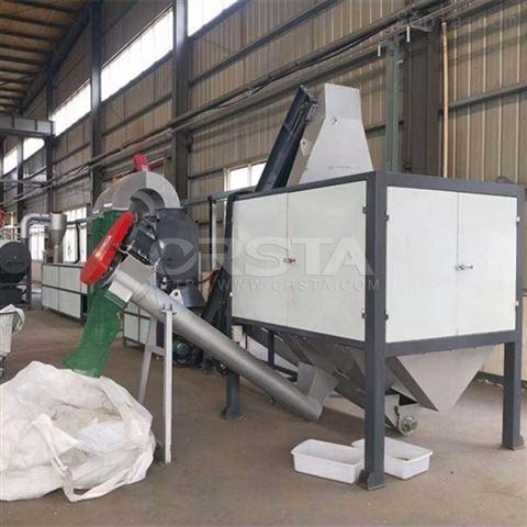 长沙PE一次性药水吊袋回收处置机