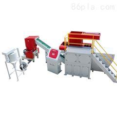 塑料管材机头料单轴撕碎机 PE PVC塑料管件专用撕碎机