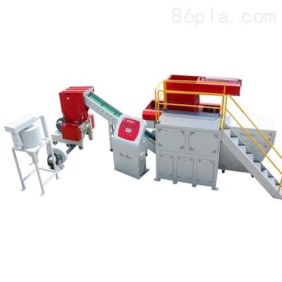塑料管材专用撕碎机 PE管材管件定制型撕碎破碎机组
