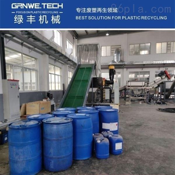 试剂桶撕碎机器HW49化工桶破碎清洗回收线