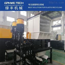 耐碱桶加工再生机器HDPE塑料酒桶摩擦清洗线