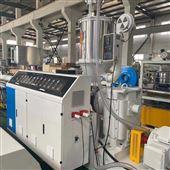 50-250HDPE盘管直管排水管给水管挤出机生产线