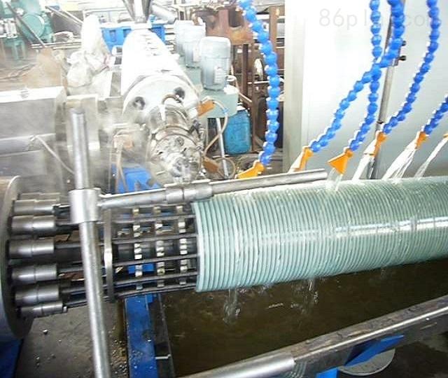 塑筋螺旋管生产线