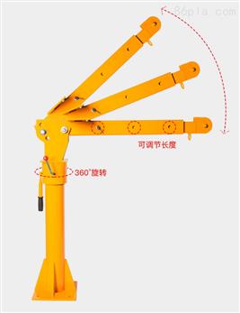 河北500公斤小型货车小吊机-0.5吨车载吊机