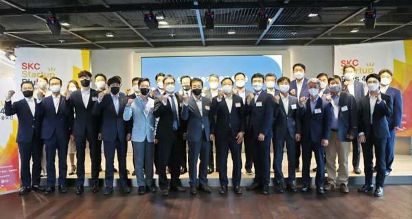 """启动韩国材料产业生态链""""第四届SKC Startup Plus"""""""