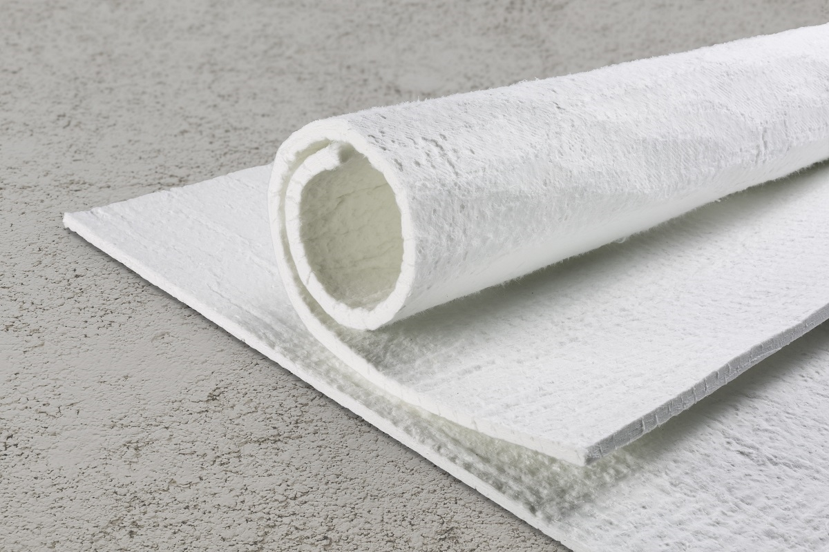 Caption -SLENTEX®, the non-combustible, flexible insulation material used in industrial applications.jpg