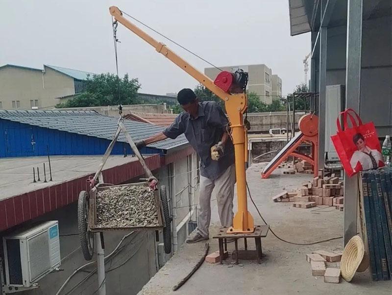 500公斤车载12v吊机
